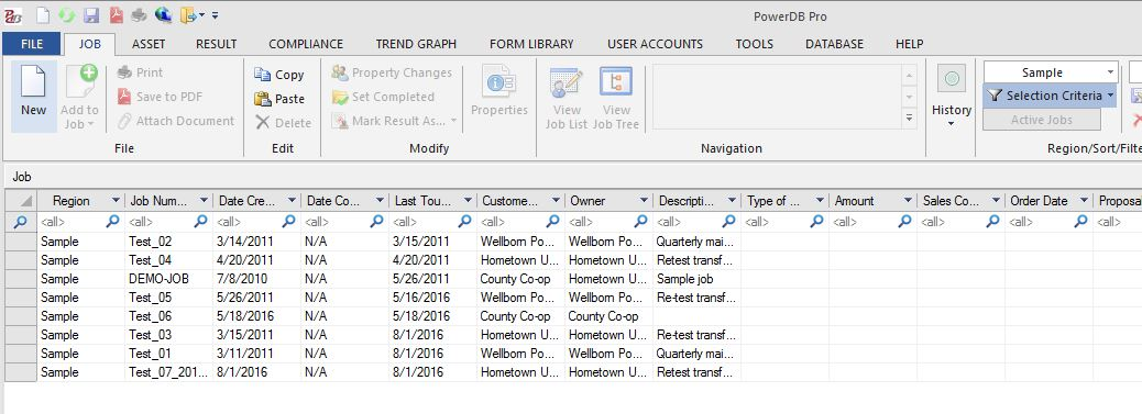 Get Control Over Test Forms